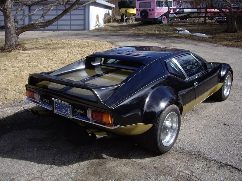 Side By Side For Sale >> Muck's 1972 DeTomaso Pantera GTS